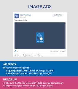 Faceboook Ad Sizes - Image Ad