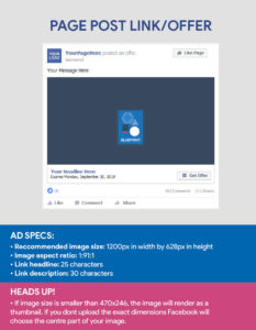 Faceboook Ad Sizes - Facebook Post